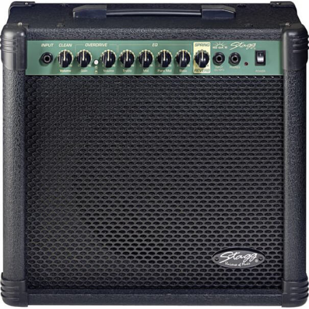 Stagg 40 GA R Guitar Amplifier with Spring Reverb 40W