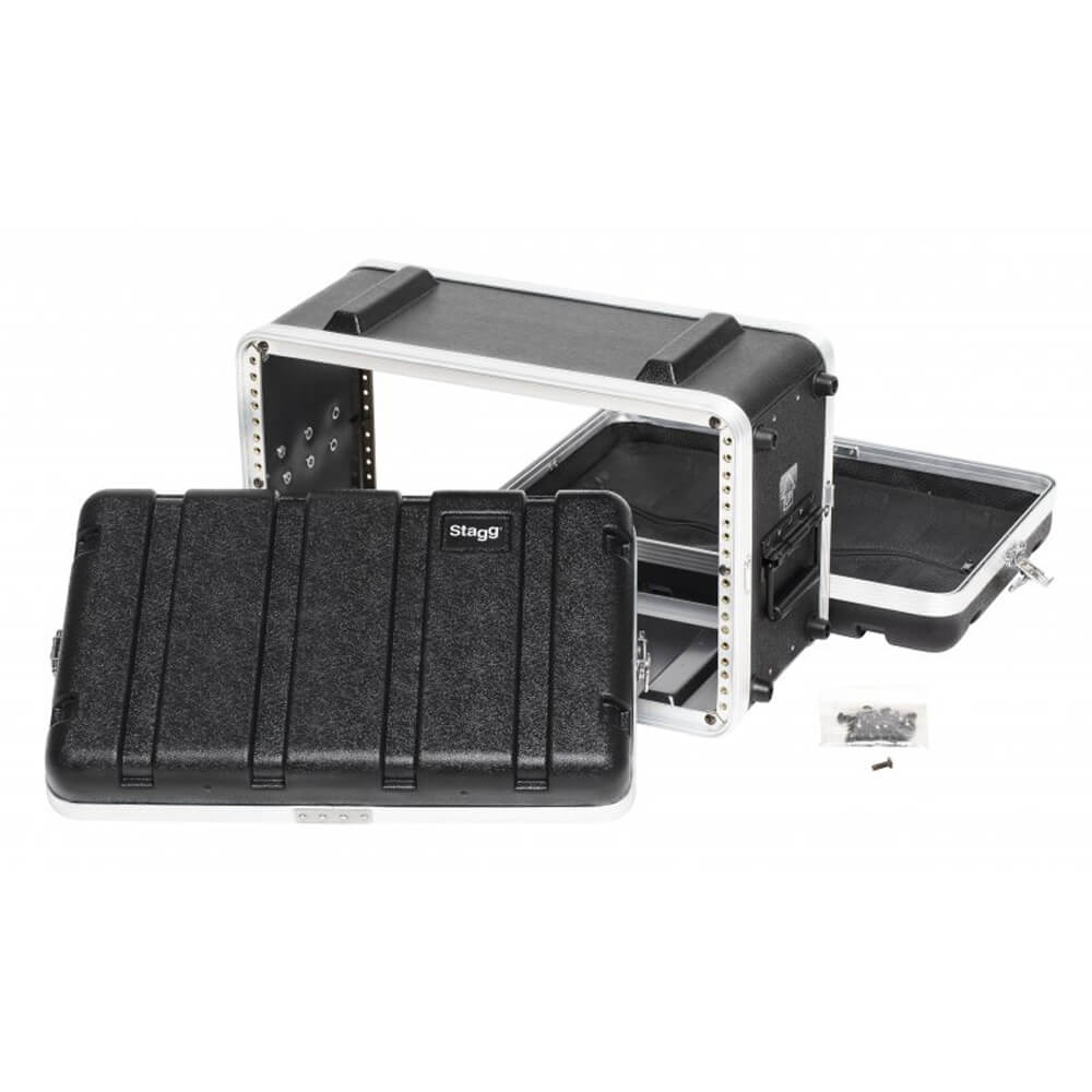 Stagg ABS-6US Shallow ABS Case For 6-Unit Rack