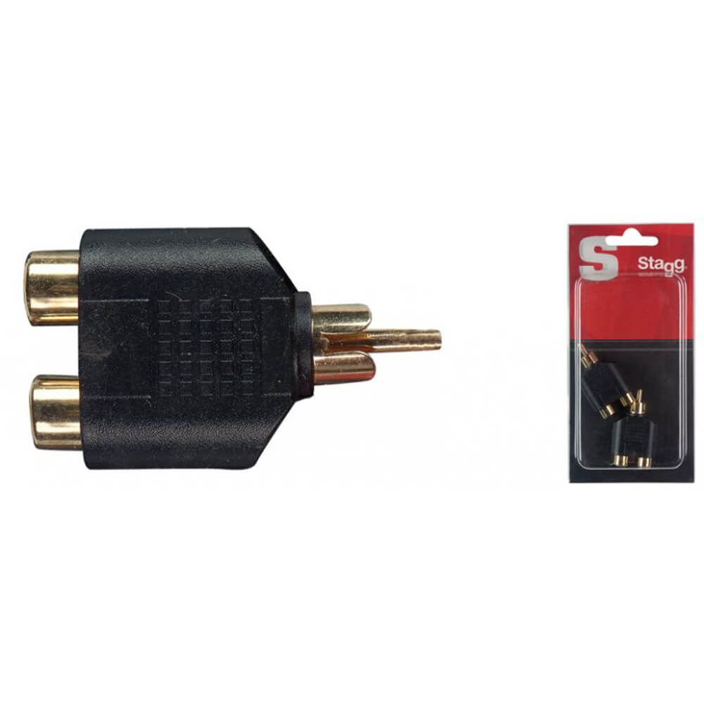 Stagg AC-2CFCMH One-Piece Audio Adaptor