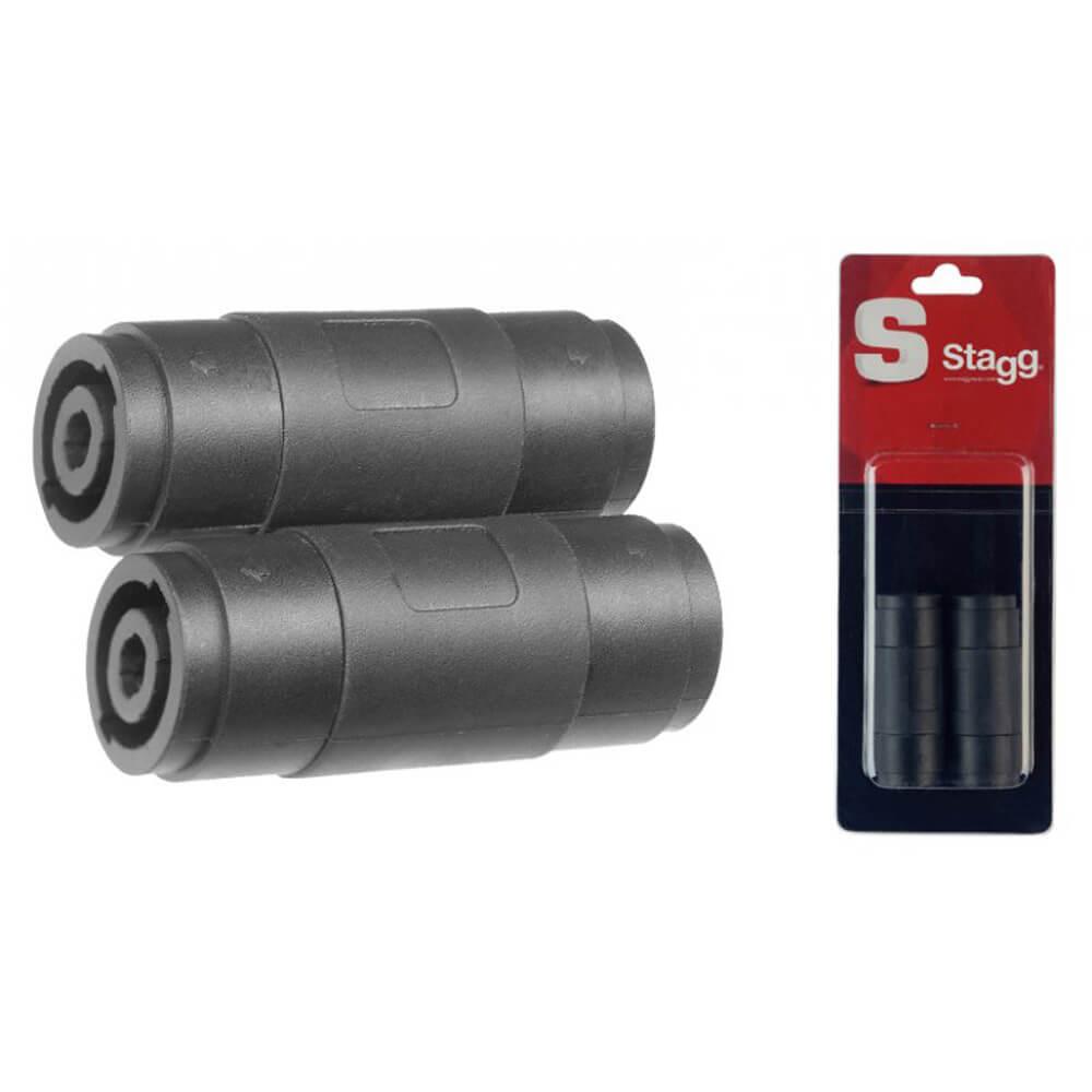 Stagg AC-SFSFH 2X Female Speaker Plug Female Speaker Plug Adapter