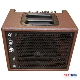 AER Alpha Plus Acoustic Guitar Amplifier - Brown - 50W