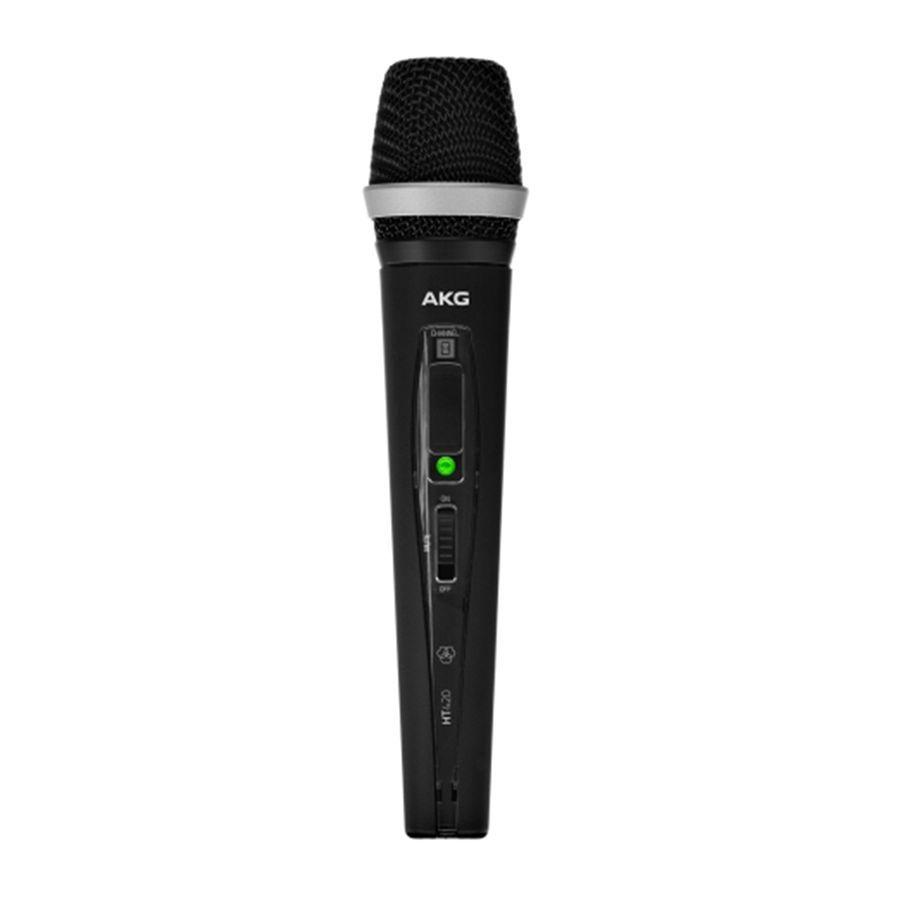akg ht420 band d professional wireless handheld transmitter rich tone music. Black Bedroom Furniture Sets. Home Design Ideas