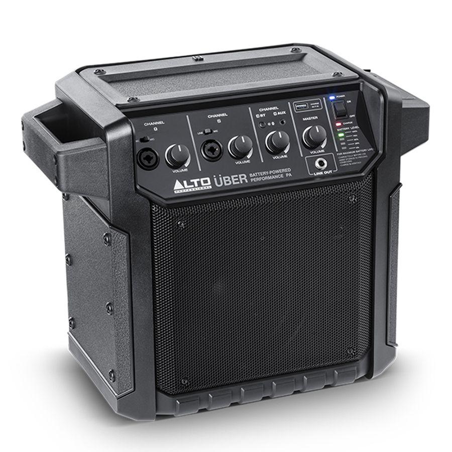Alto Uber Pa 50w Bluetooth Pa System Rich Tone Music