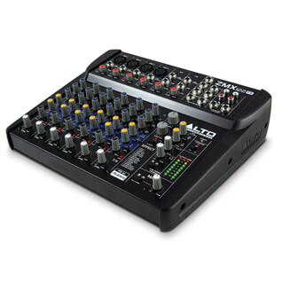 Alto Zephyr ZMX122-FX 8-channel Compact Mixer with FX