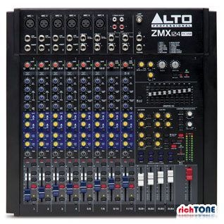 Alto Zephyr ZMX124FXU 12 Channel Mixer with FX and USB