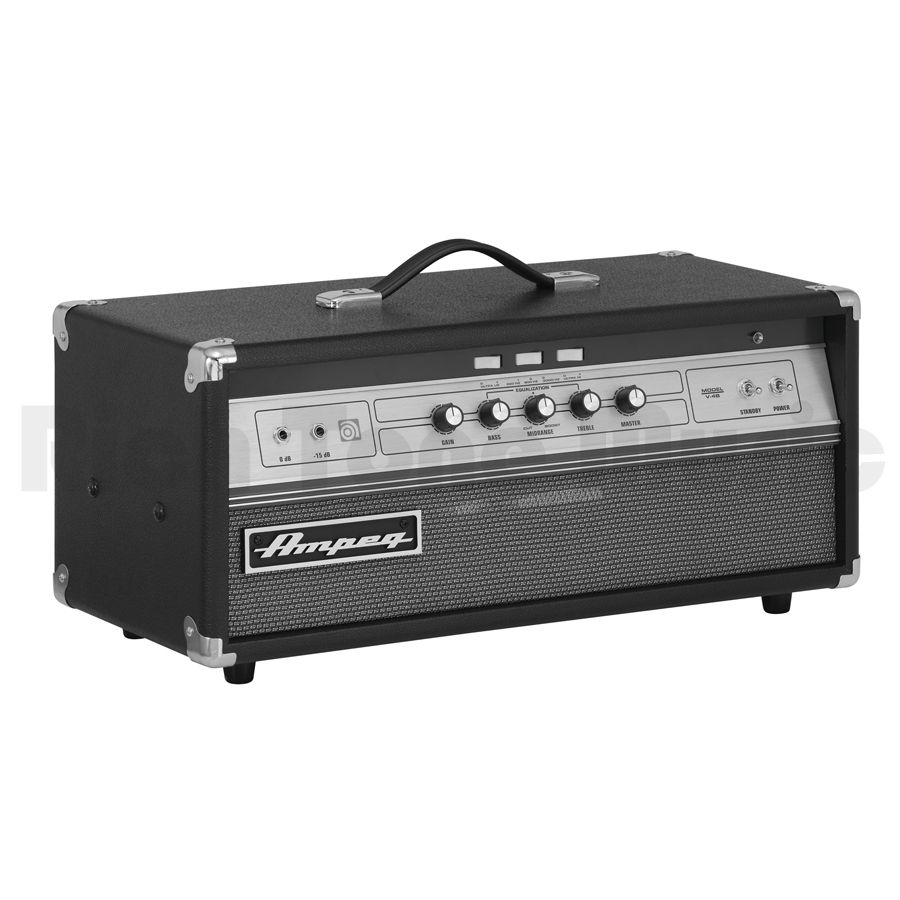 ampeg v 4b bass guitar amp head rich tone music. Black Bedroom Furniture Sets. Home Design Ideas