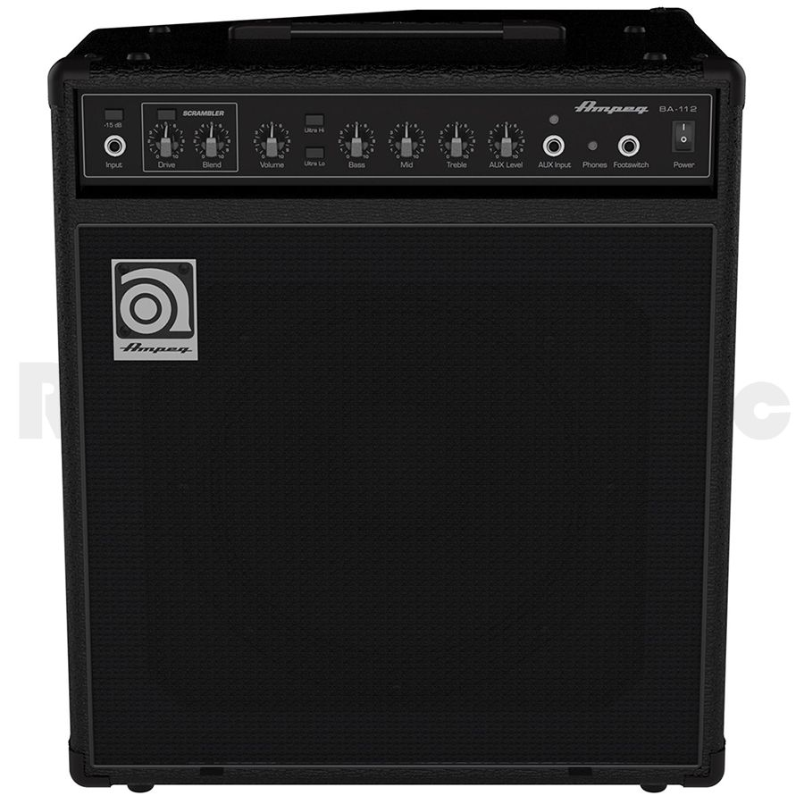 ampeg ba 112 bass guitar combo amplifier rich tone music. Black Bedroom Furniture Sets. Home Design Ideas