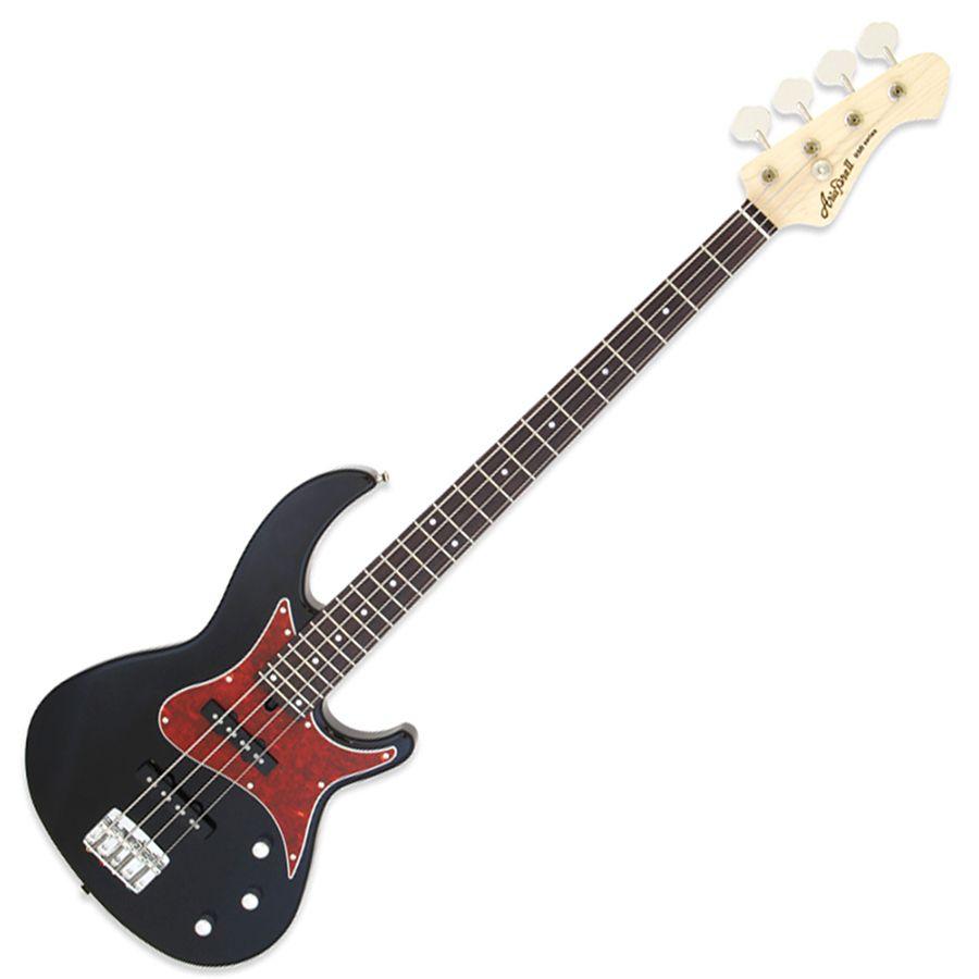 aria rsb 1000 bass guitar made in japan black rich tone music. Black Bedroom Furniture Sets. Home Design Ideas