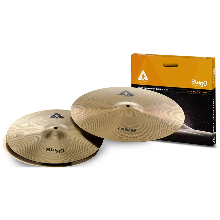 Stagg AXA SET Copper-Steel Alloy Innovation Cymbal Set