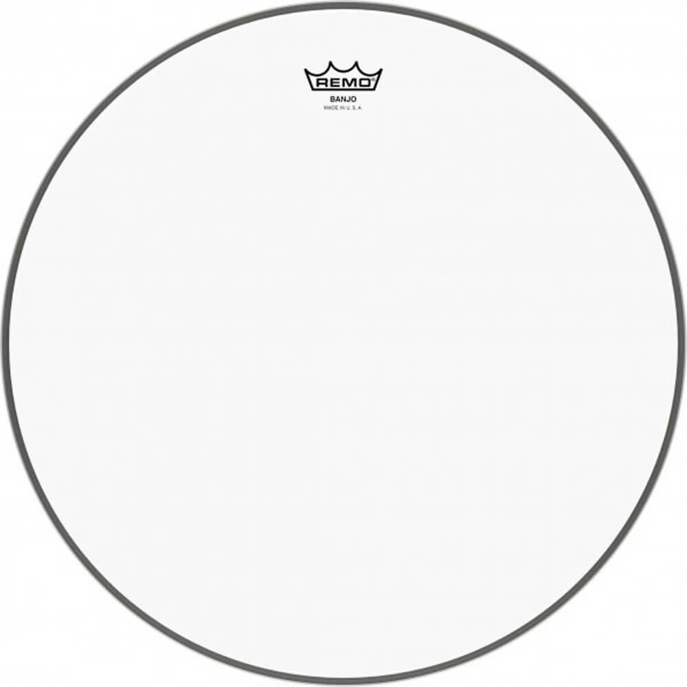 "Remo BJ-1100-M3 11"" Clear Banjo Head-Medium Collar"