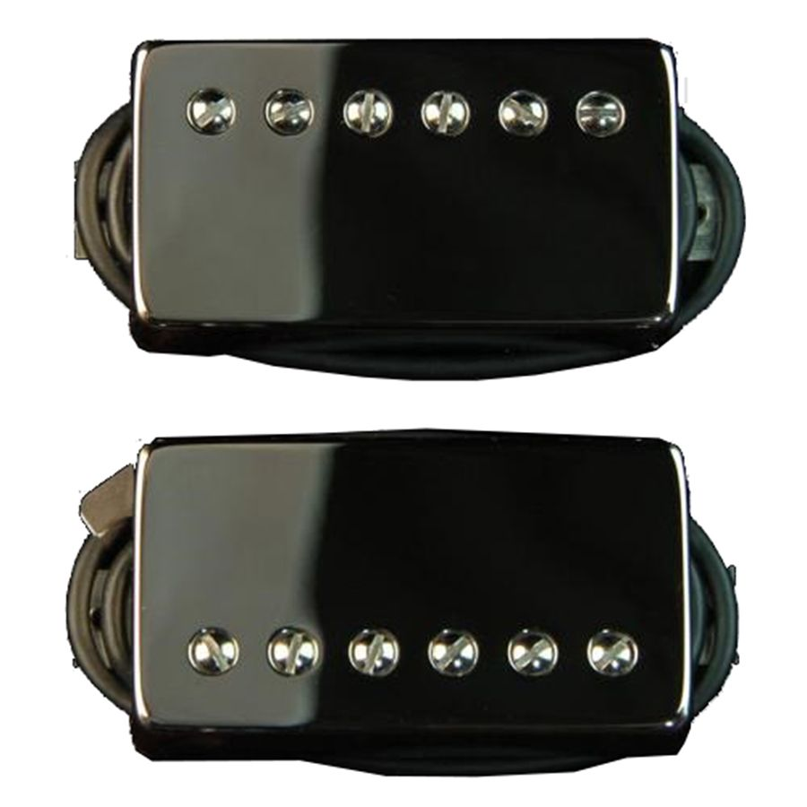 bare knuckle nailbomb humbucker pick up set black covers rich tone music. Black Bedroom Furniture Sets. Home Design Ideas