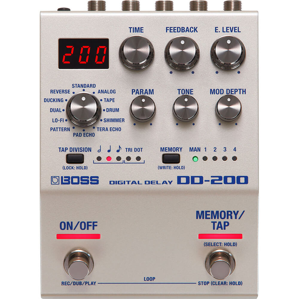 Boss DD-200 Digital Delay FX Pedal