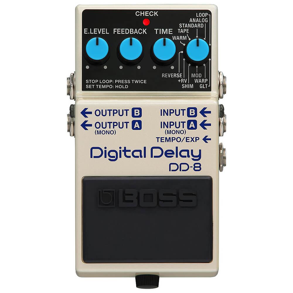 Boss DD-8 Digital Delay FX Pedal