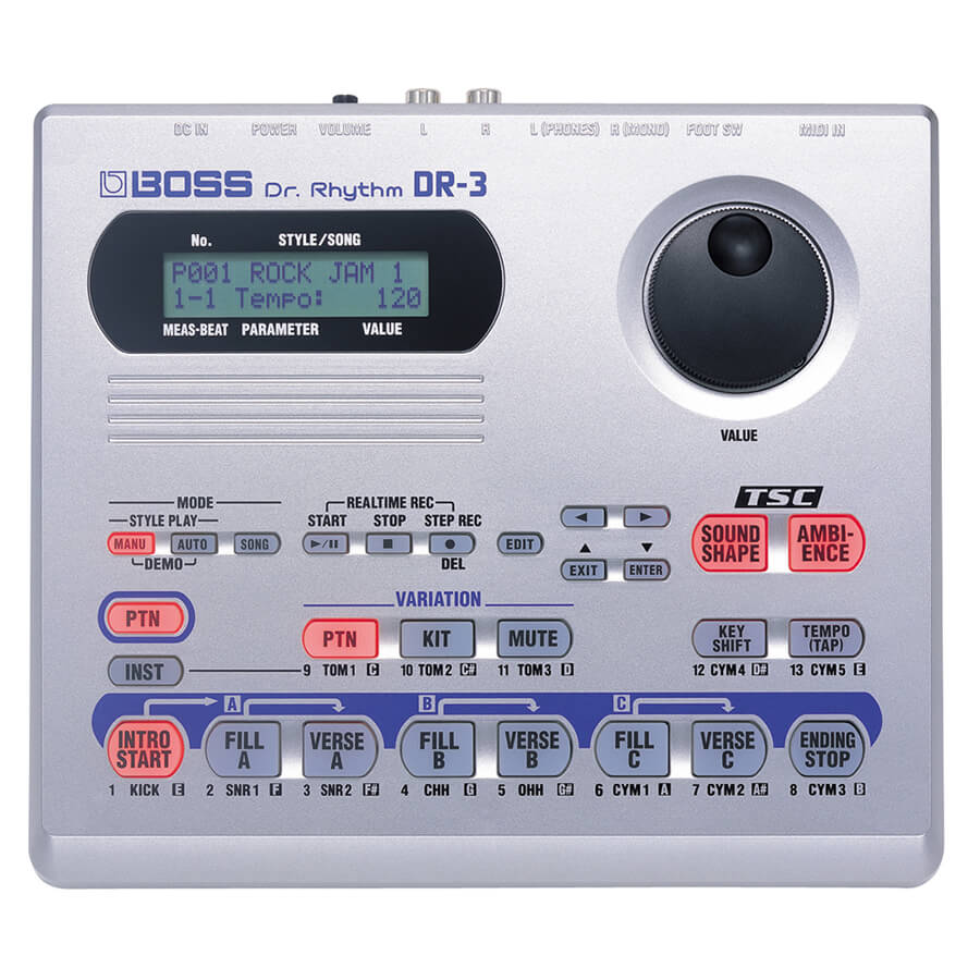 Boss DR-3 Dr Rhythm Drum Machine