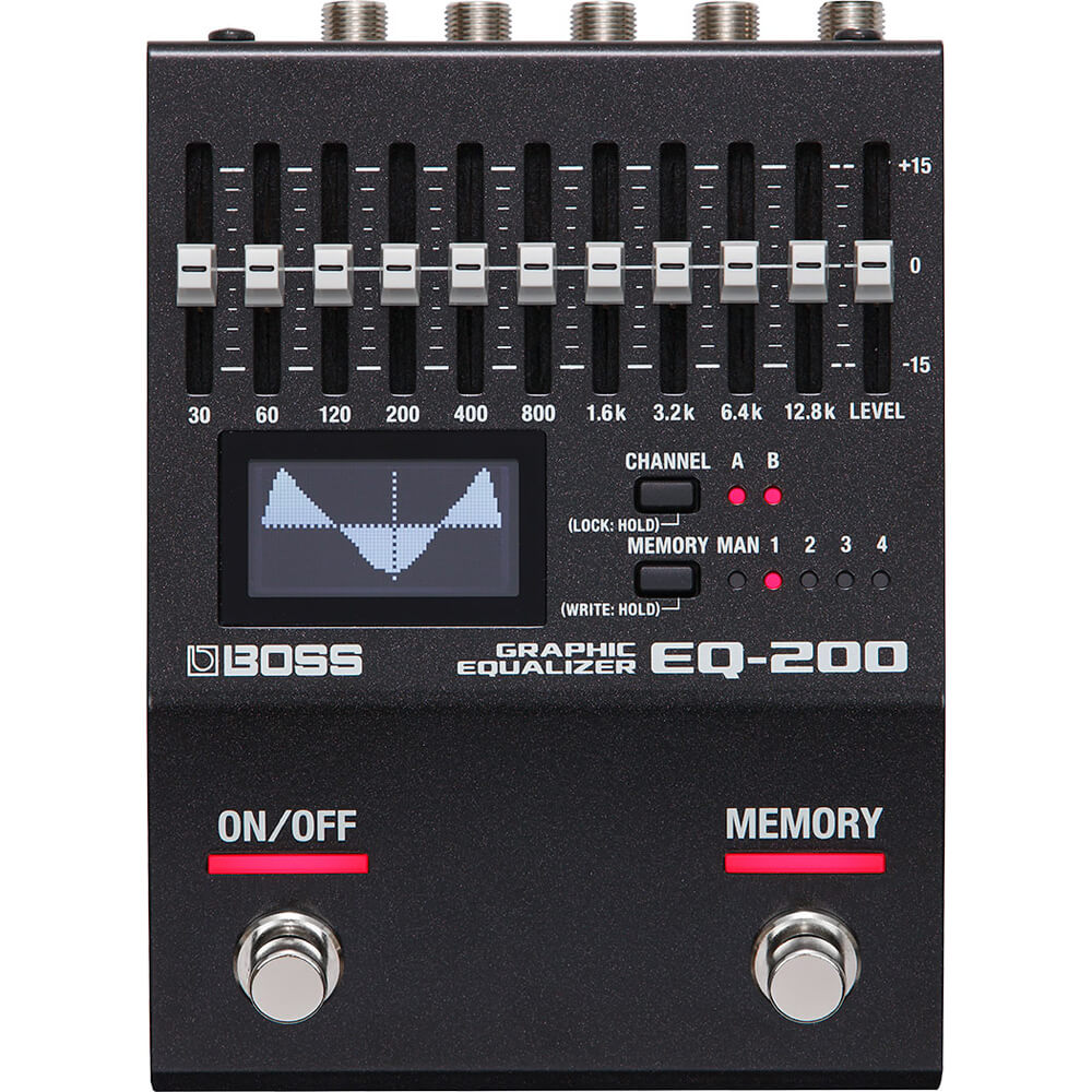 Boss EQ-200 Graphic Equalizer FX Pedal