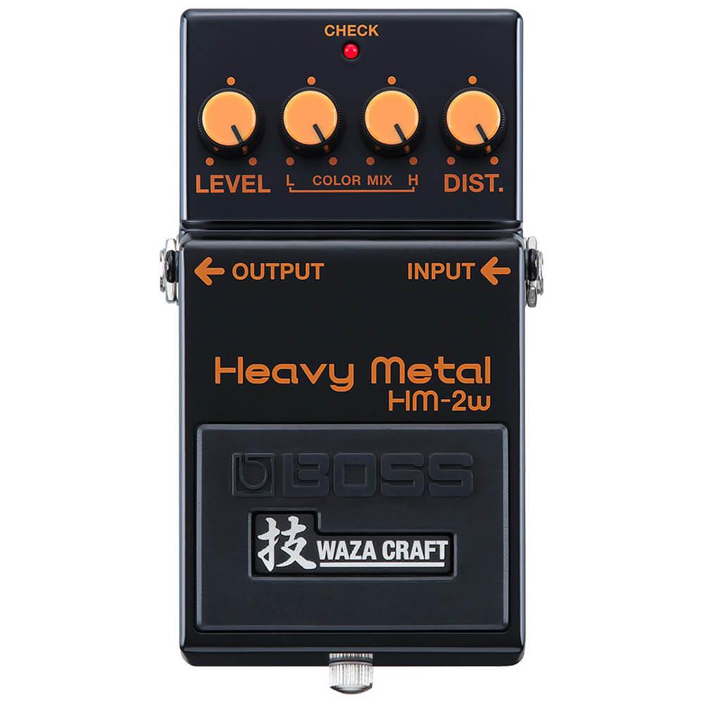 Boss HM-2W Waza Craft Heavy Metal FX Pedal