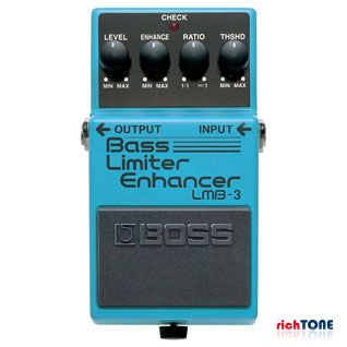 Boss LMB-3 Bass Limiter Enhancer Bass Guitar FX Pedal