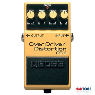 Boss OS-2 OverDrive/Distortion Effects Pedal