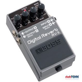 Boss RV-5 Digital Reverb Guitar FX Pedal