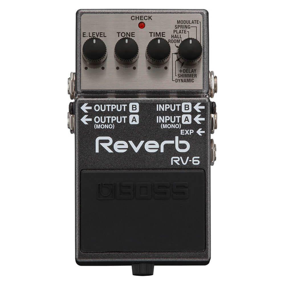 Boss RV-6 Reverb FX Pedal