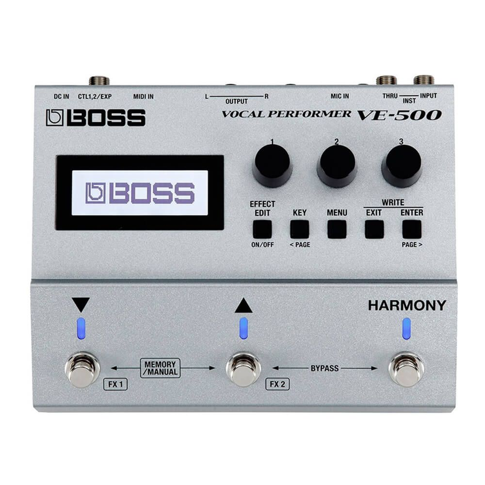 Boss VE-500 Vocal Performer FX Pedal