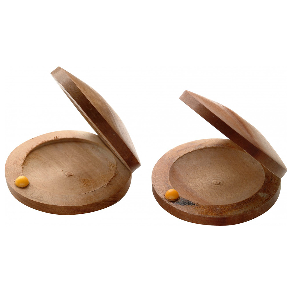 Stagg CAS-W Wooden Castanets, Jujube, Pair