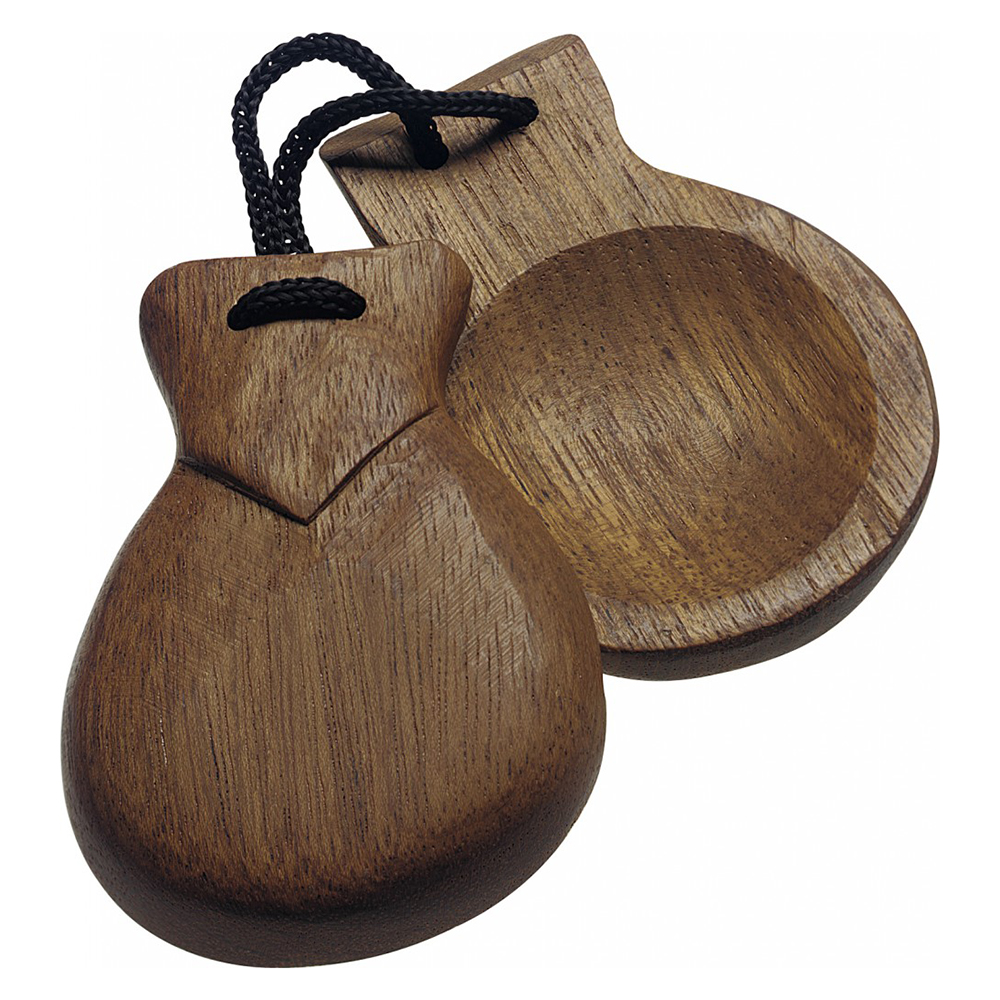 Stagg CAS-WT Wooden Castanets, Pair