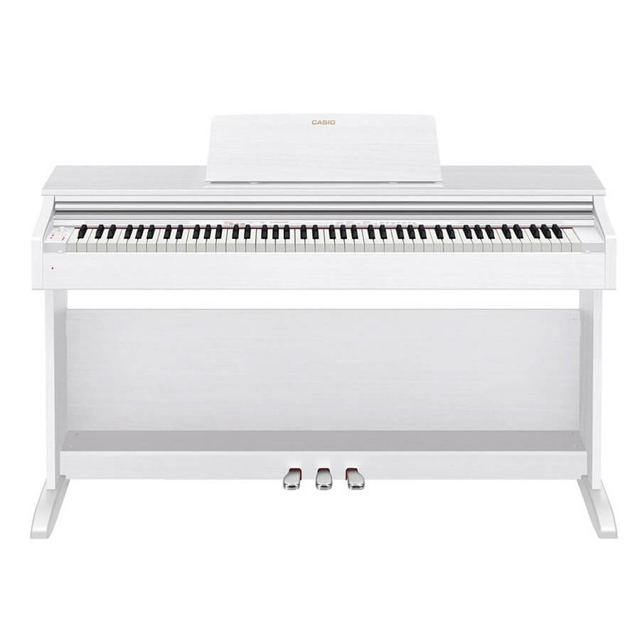 casio celviano ap 270 digital piano white rich tone music. Black Bedroom Furniture Sets. Home Design Ideas