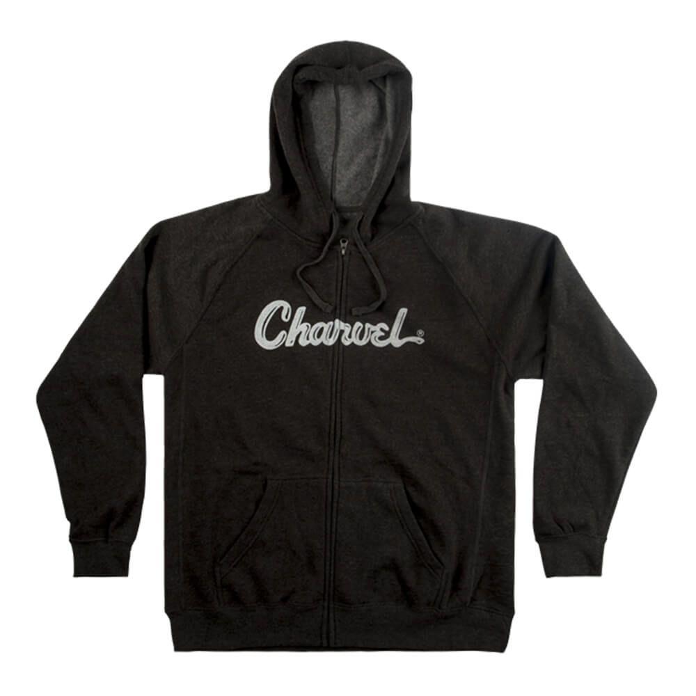 Charvel Logo Hoodie, Charcoal - XL