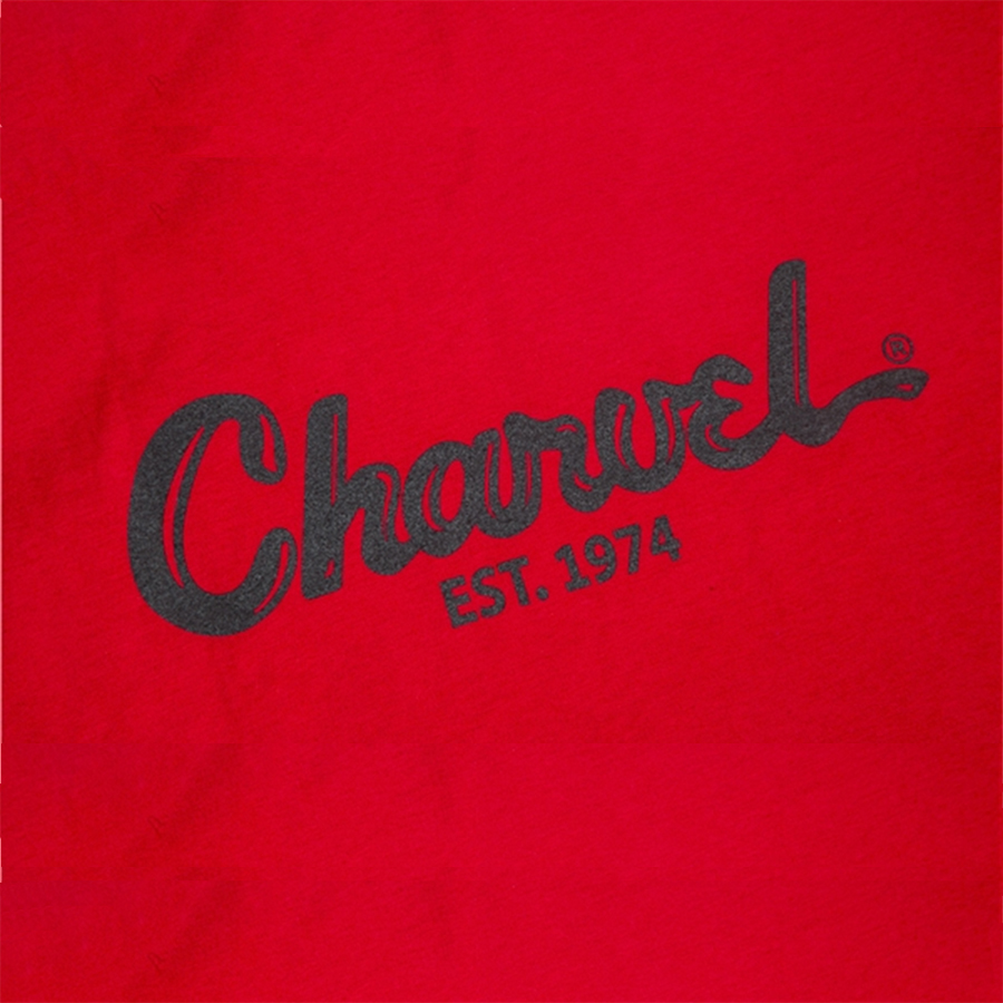 Charvel Toothpaste Logo T-Shirt - Red - Medium