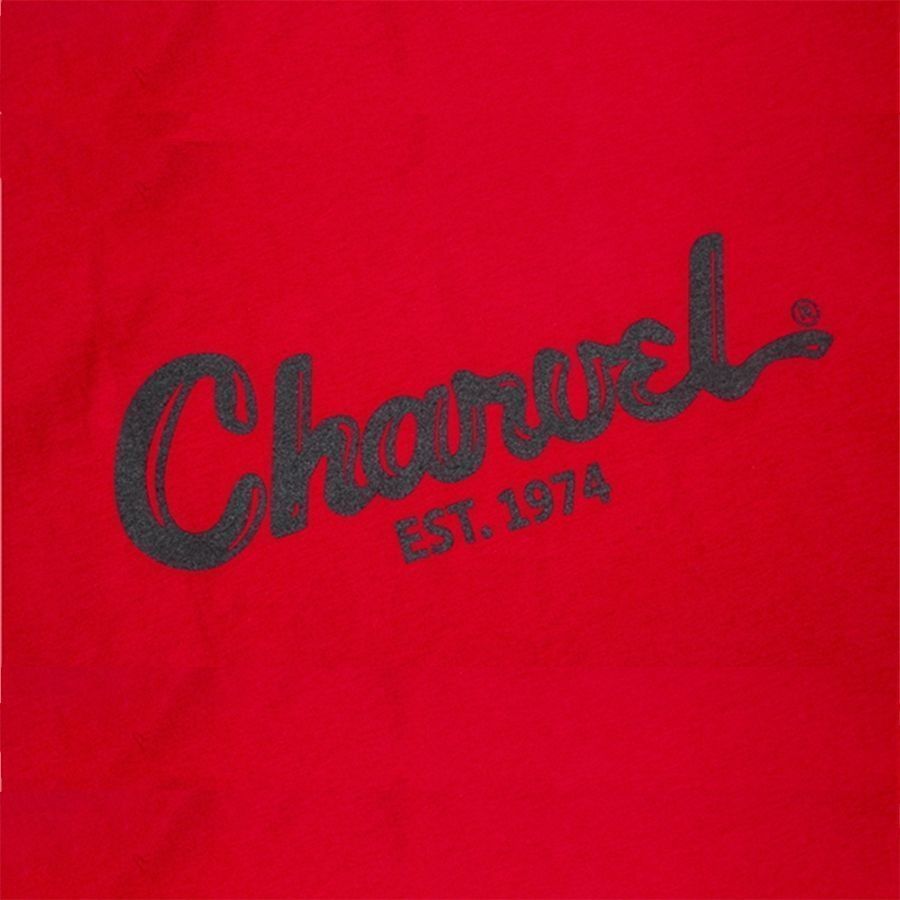 Charvel Toothpaste Logo T-Shirt - Red - Small