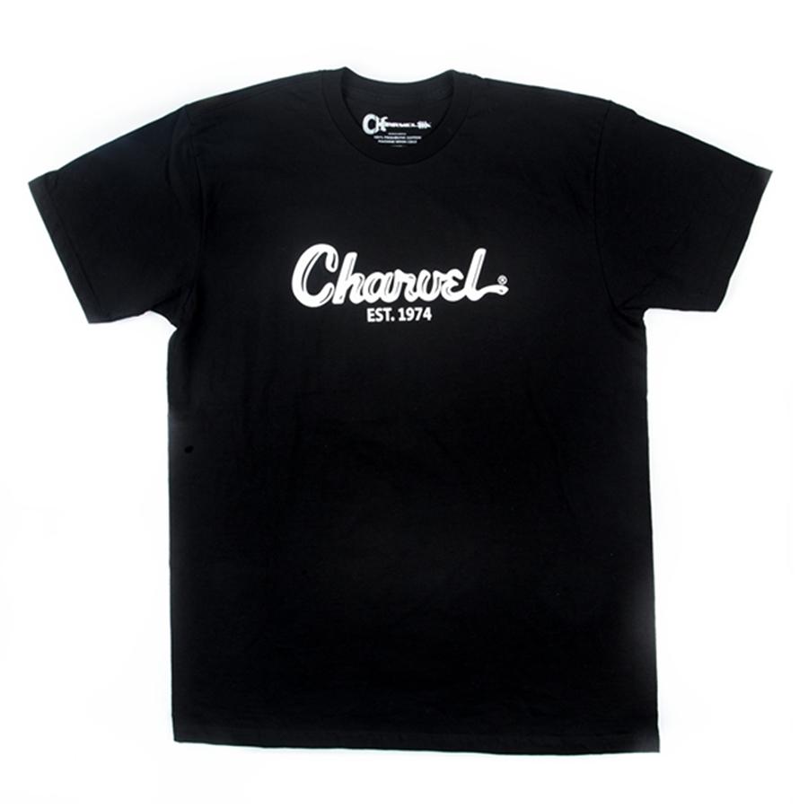 Charvel Toothpaste Logo T-Shirt - Black - XXL