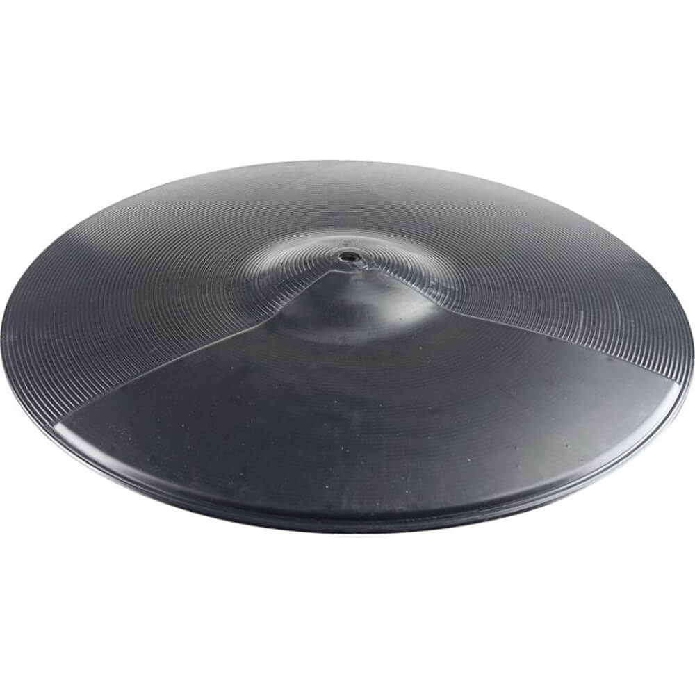 "Stagg CPB-16 16"" Black Plastic Practice Cymbal"