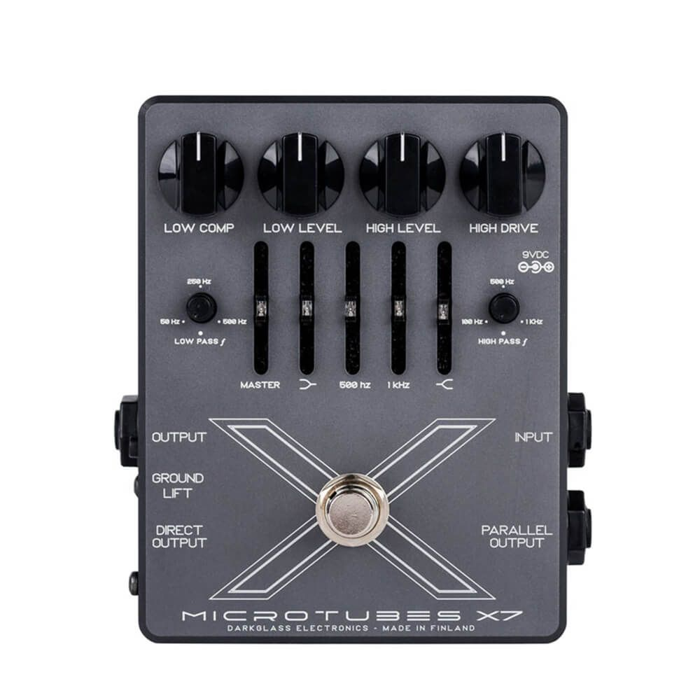 Darkglass Microtubes X7 Multiband Bass Drive/EQ/DI Pedal