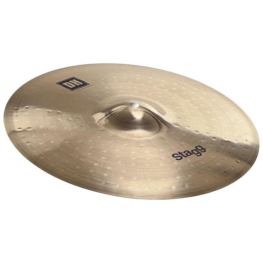 Stagg DH-CM14B Dual Hammered 14″ DH Brilliant Medium Crash Cymbal