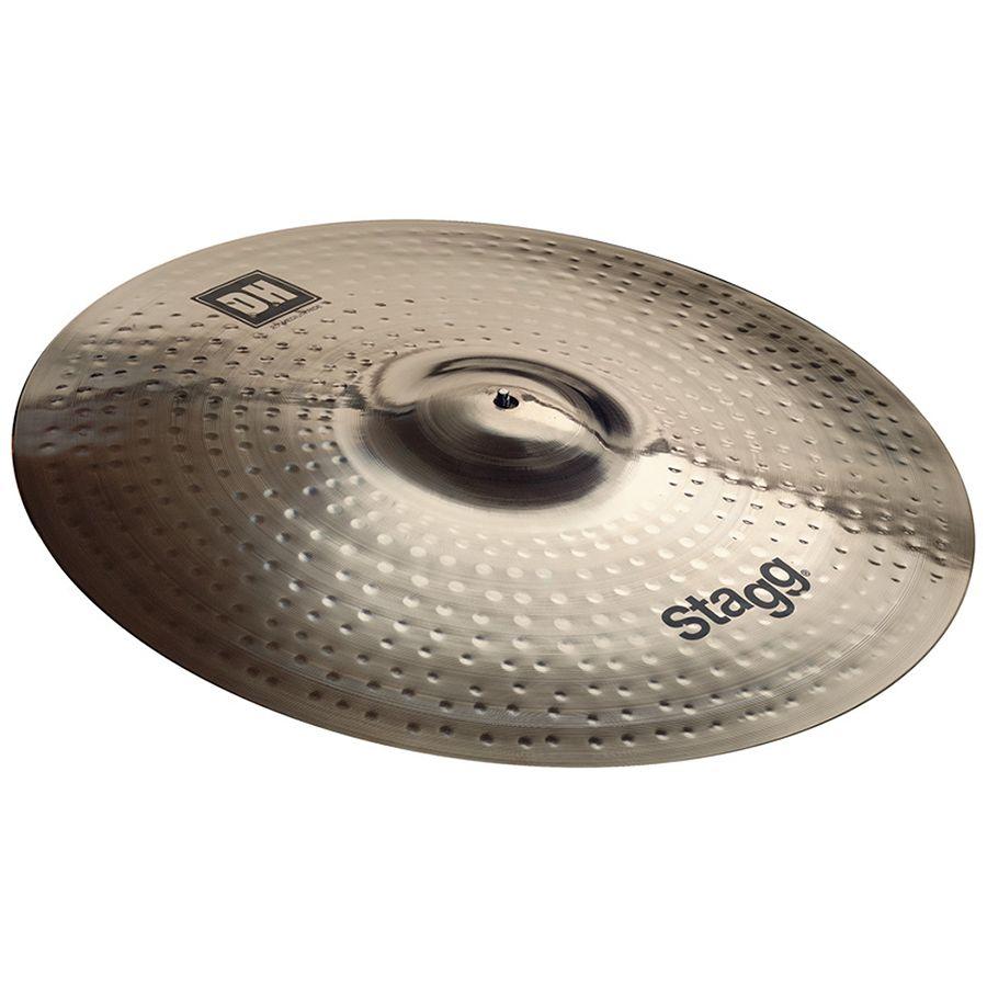 Stagg DH-RM20B Dual Hammered 20″ DH Brilliant Medium Ride Cymbal