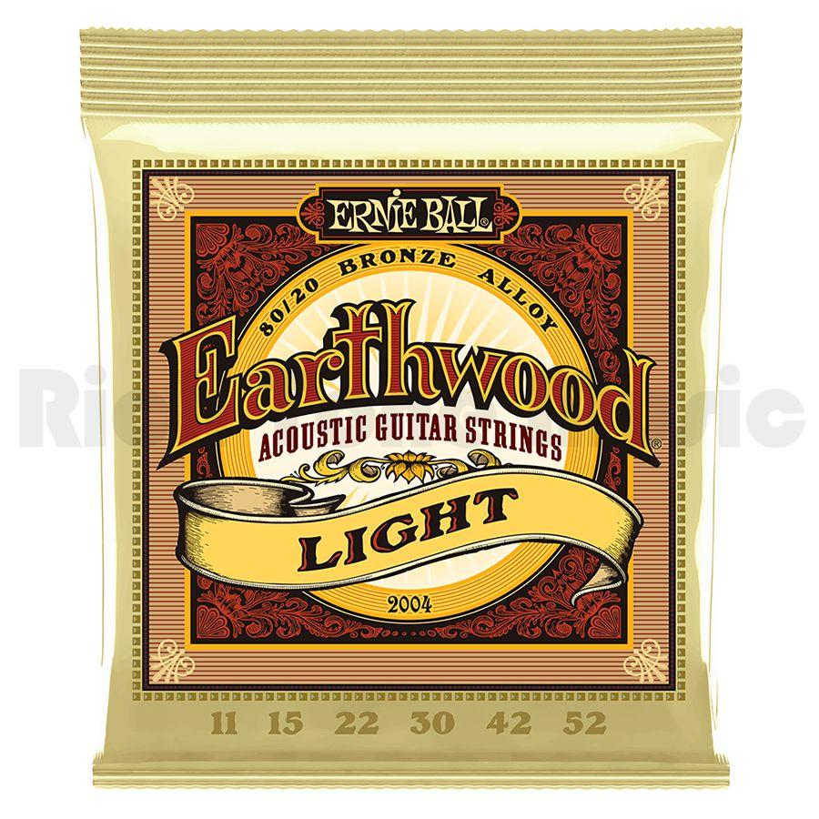 Ernie Ball 2004 Earthwood Light 80/20 Bronze 11-52