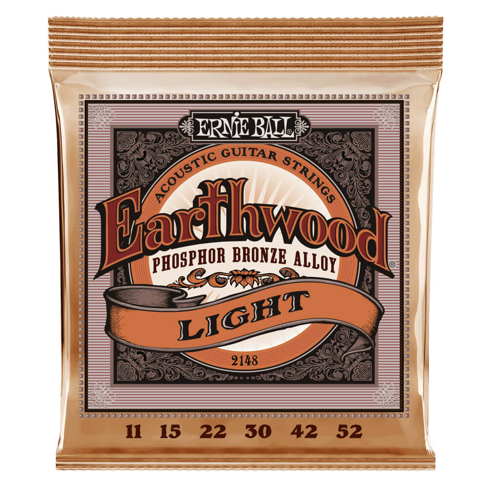 Ernie Ball 2148 Earthwood Light Phosphor Bronze 11-52