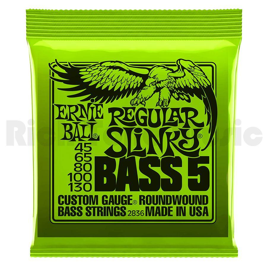 Ernie Ball 2836 Regular Slinky Bass 5 45-130
