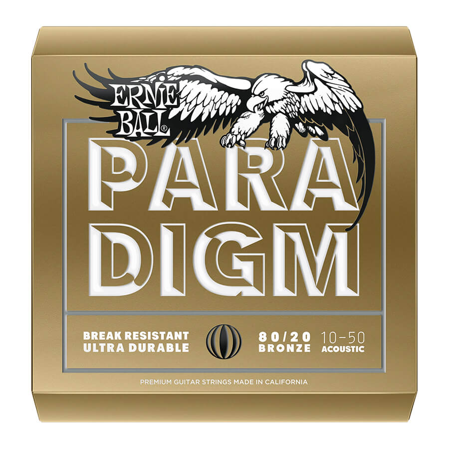 Ernie Ball Paradigm 80/20 Bronze Extra Light 10-50
