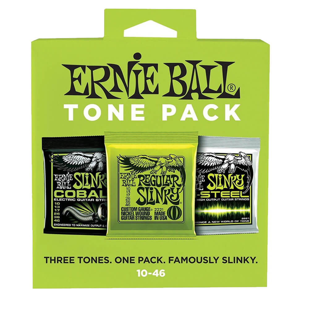 Ernie Ball Regular Slinky 10-46 Tone Pack