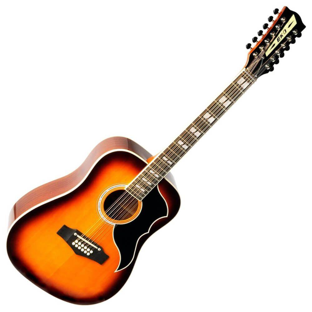 Eko Ranger 12 VR Honey Burst Acoustic Guitar