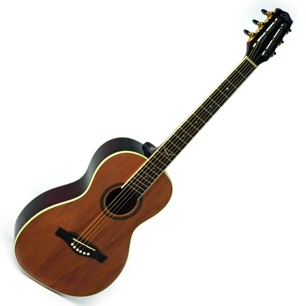 Eko NXT Parlour Natural Acoustic Guitar