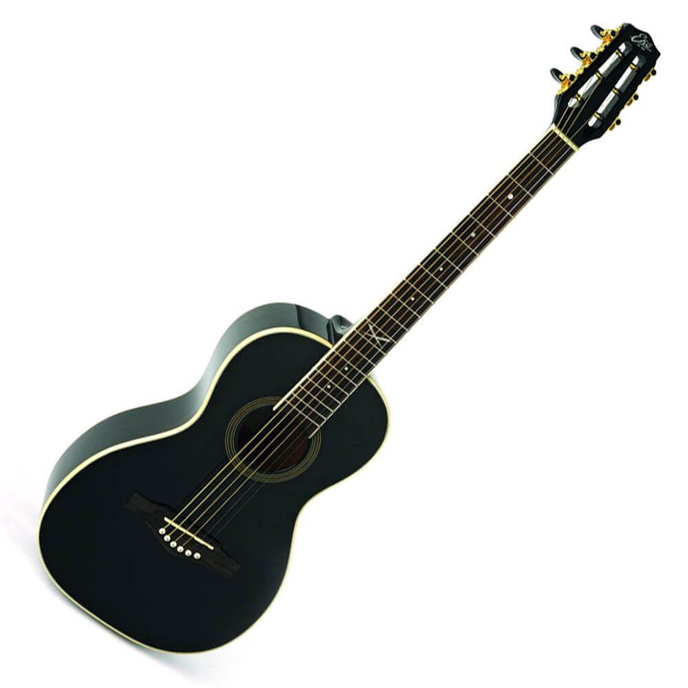 Eko NXT Parlour Black Acoustic Guitar