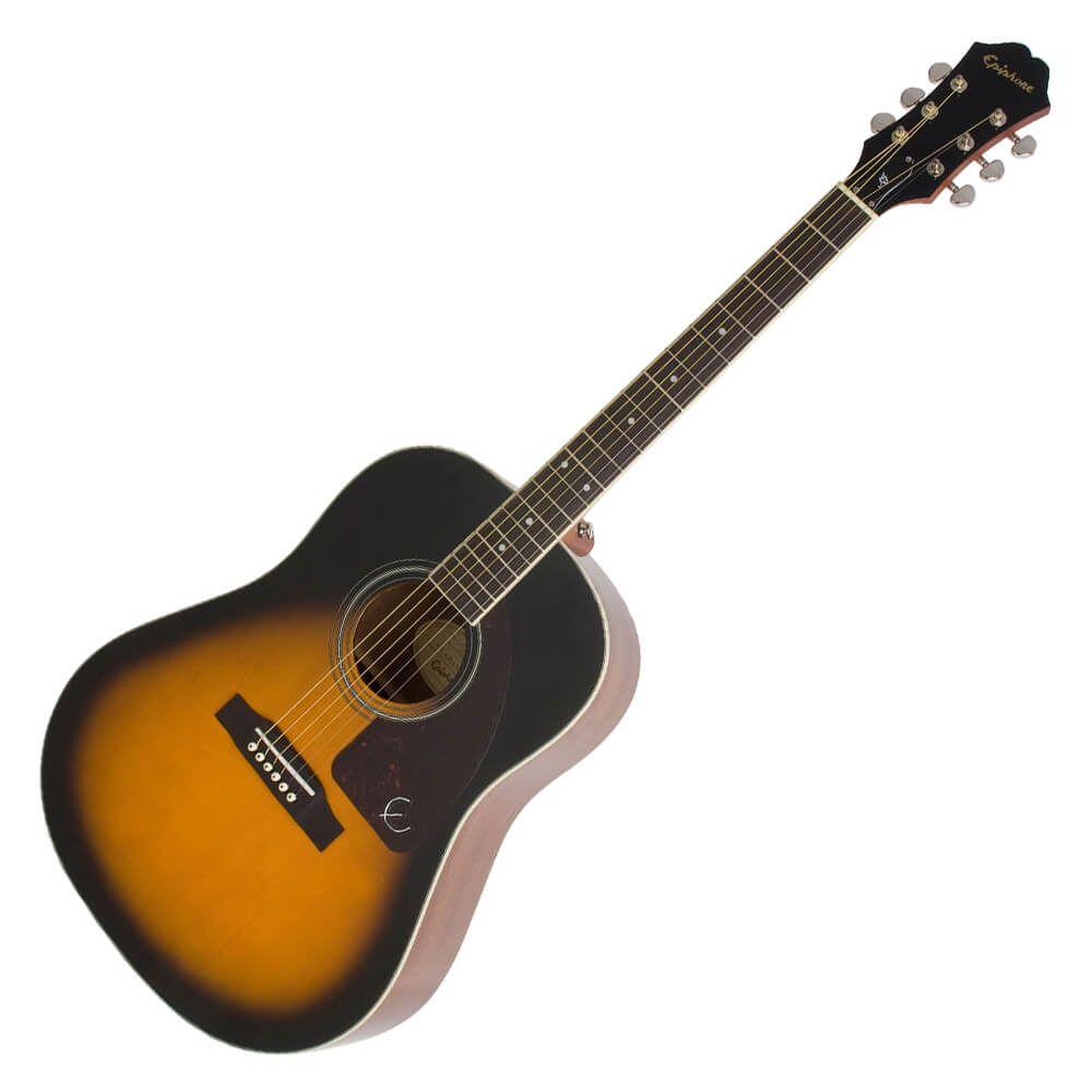 Epiphone AJ-220S Acoustic Guitar - Vintage Sunburst