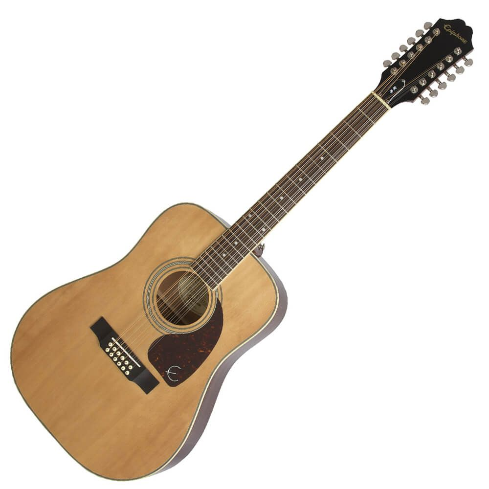 Epiphone DR-212 12 String Acoustic Guitar - Natural