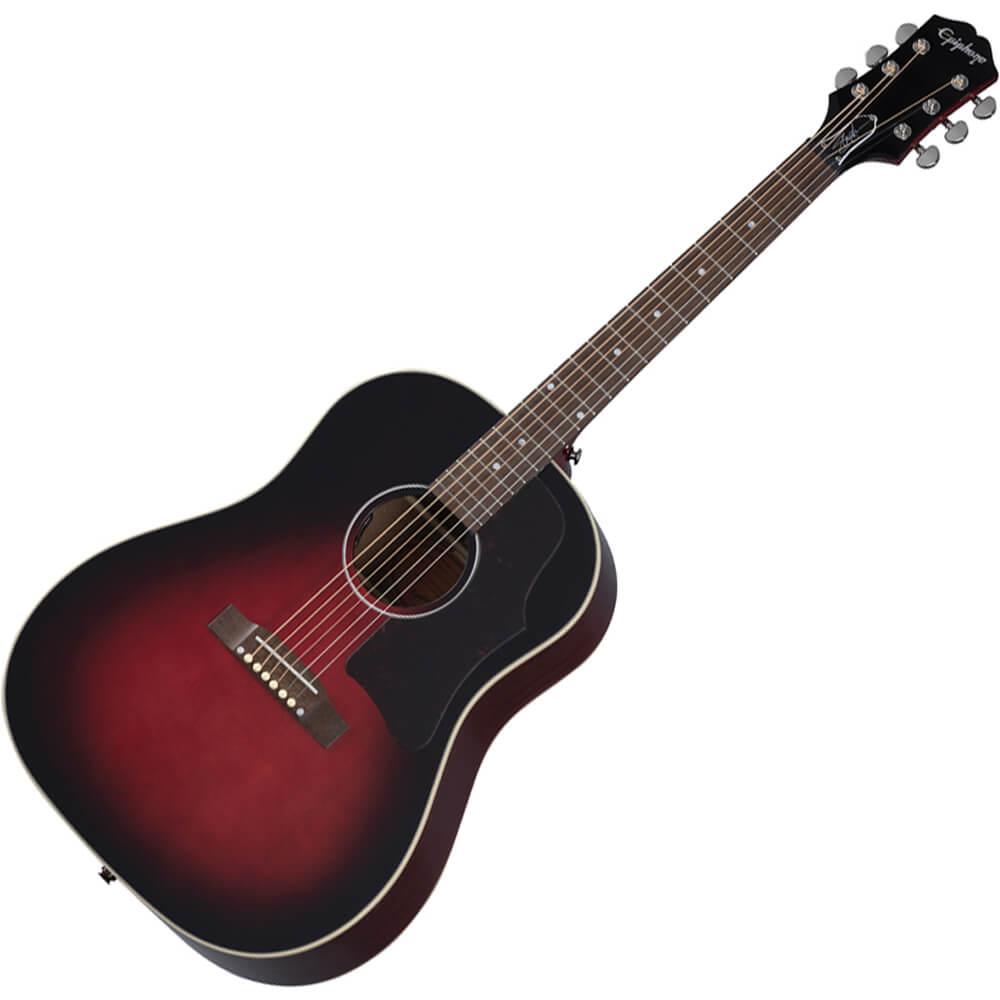 Epiphone Slash J-45 Electro-Acoustic Guitar - Vermillion Burst