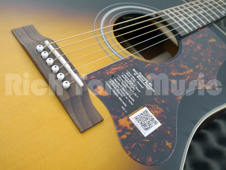 epiphone masterbilt aj 45me electro acoustic rich tone music. Black Bedroom Furniture Sets. Home Design Ideas