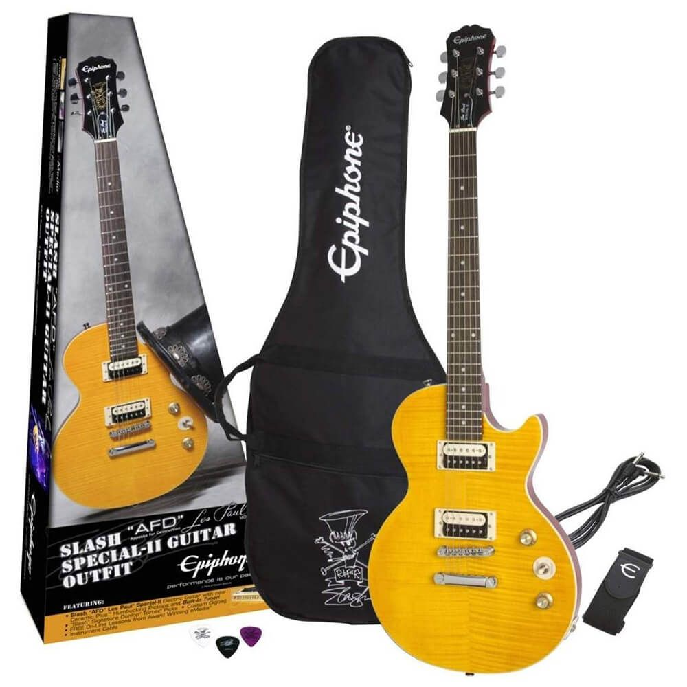 Epiphone Slash AFD Les Paul Special-II Guitar Outfit