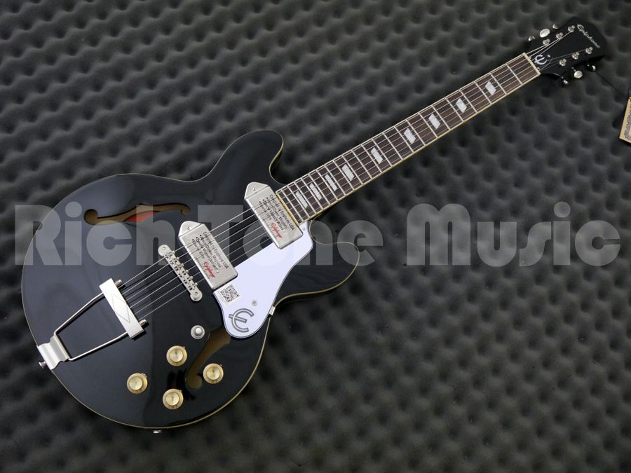 epiphone casino coupe limited edition ebony